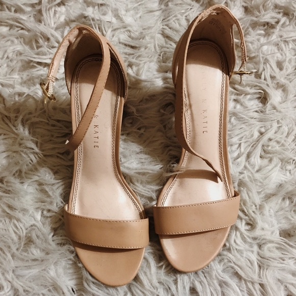 98e3af50ab7 Brand new DSW size 6.5 nude block heels!